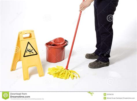 Mopping The Floor by Mopping White Floor Royalty Free Stock Photo Image 23799755