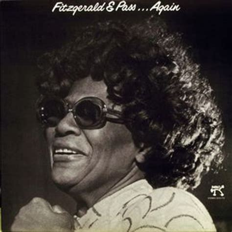 Passes Again Again by Ella Fitzgerald 1917 1996 Cover Jazz