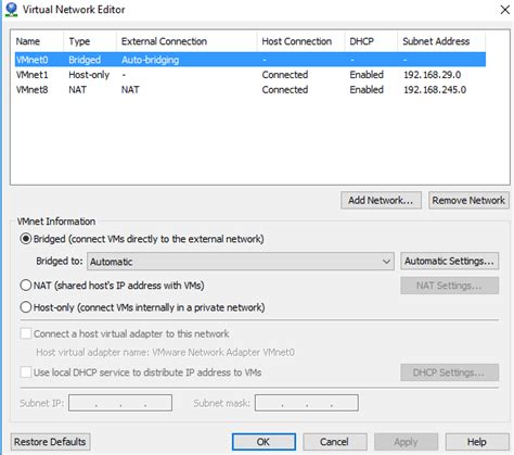 Gw 192 J Size Besar 1 initial setup of simulator on 8 3 2 with vm workstation network config issue netapp community