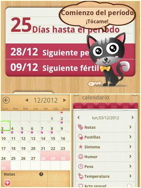 Calendario Menstrual Gratis Mi Calendario Menstrual La App Que Varias