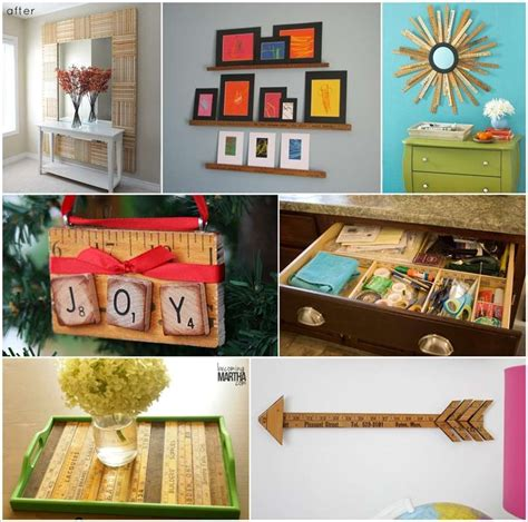 50 ideas to repurpose yardsticks for home decor