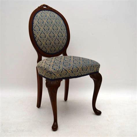Antique Walnut Dining Chairs Antique Burr Walnut Dining Table Six Chairs Antiques Atlas