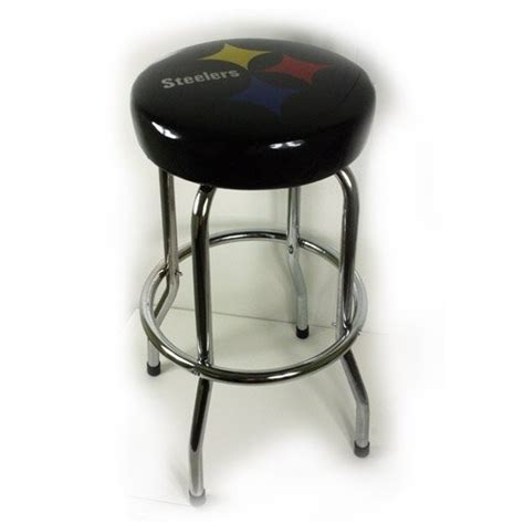 Steelers Bar Stool by Pittsburgh Steelers Black Bar Stool For The Home