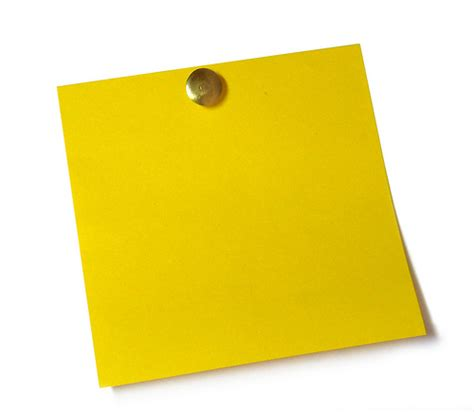 Sticky Note Clip Art Clipart Best Sticky Note Template