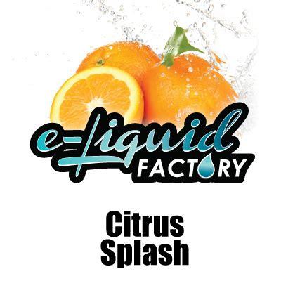 Citrus Splash citrus splash eliquid e liquid factory