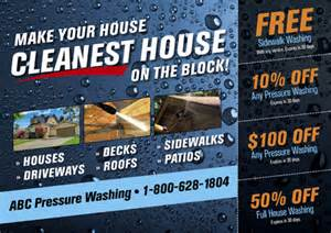 5 brilliant window washing amp pressure cleaning direct mail