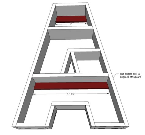 ana white a letter shelf diy projects ana white a letter shelf diy projects