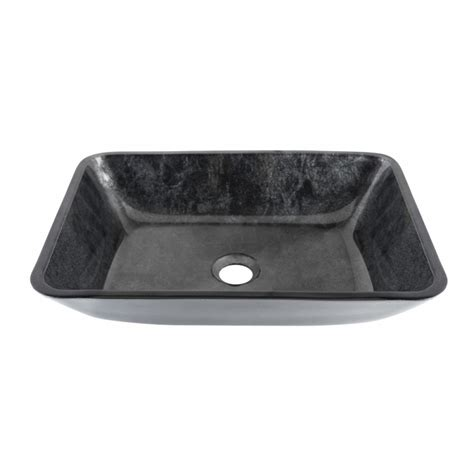 vigo glass vessel sinks vigo rectangular gray onyx glass vessel bathroom sink