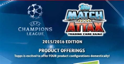 Limited Edition Soya Kedelai Asi Boster match attax chions league 2015 2016 productos a la