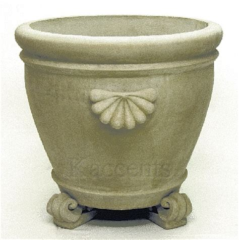 Foot Planters by Large Patio Planter With Scroll