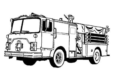 Trucks Coloring Pages Truck Coloring Pages Coloringpages1001 Com