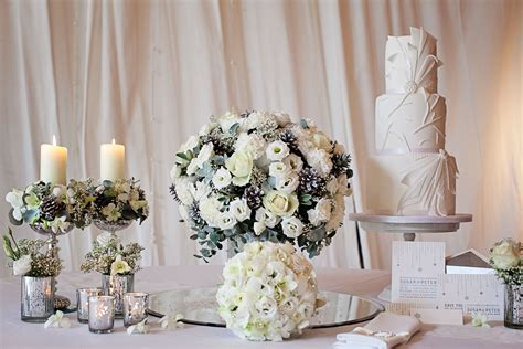 Winter wedding flowers   Pure Weddings Magazine   Cheshire
