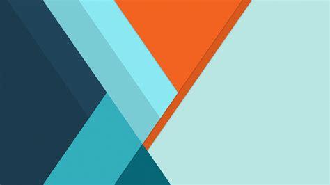 blue material design minimal desktop pc  mac