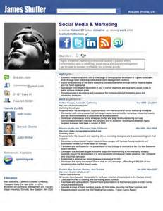 inspired resume by rkaponm clever social