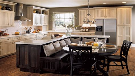 kitchen island seating kitchen island with attached table ideas kitchen islands