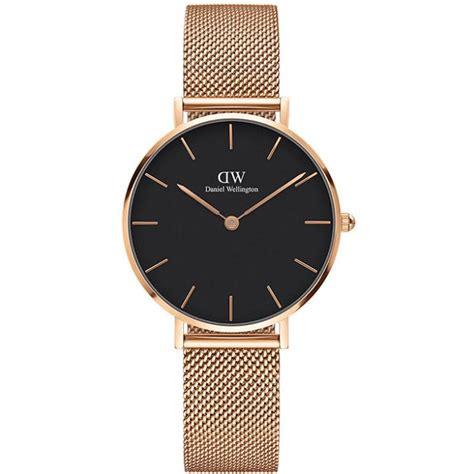 montre daniel wellington classic dw00100161 montre milanaise or femme sur bijourama
