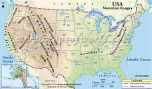 map of america mountains eastern usa map map travel holidaymapq