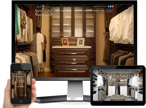 Artistic Closets by Hung Up On Design Tight Line Productions