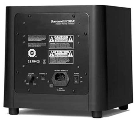 amazoncom polk audio  surroundbar sda instant home