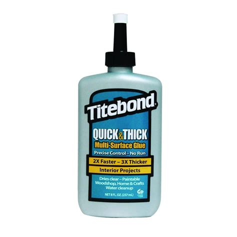 titebond 8 oz and thick multi surface glue 12 pack