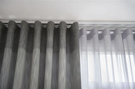 vitrage curtains curtain modern rail system cortinas gordijnen