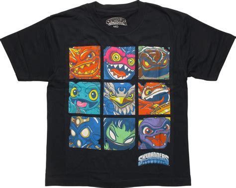T Shirt Kaos Overwatch skylanders grid youth t shirt