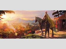 Lions of Casterly Rock - Fantasy Flight Games Jaime Lannister Art Hand