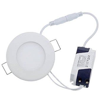 Lu Led Hiled Ceiling Light 3w 1 lemonbest 174 3w led panel light ceiling l led recessed downlight cool white recessed
