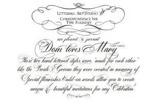 Wedding Calligraphy Fonts – Calligraphy wedding fonts   Skyla Design