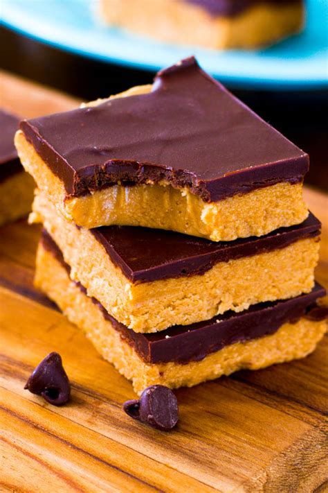no bake peanut butter bars with chocolate on top 21 no bake chocolate desserts that couldn t be easier