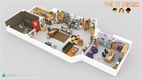 tv show floor plans tv shows brought to with 3d plans drawbotics