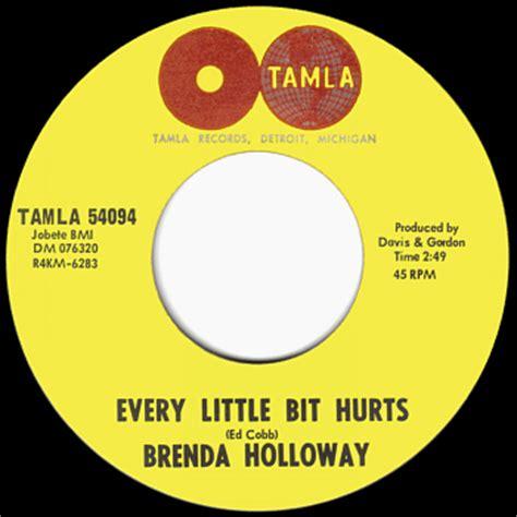every bit hurts soul serenade brenda holloway quot every bit hurts quot