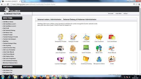 membuat aplikasi toko online aplikasi e commerce cv dieng cyber