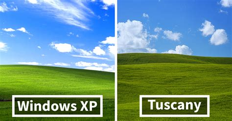 classic xp wallpaper i photographed tuscany and it looks like the classic