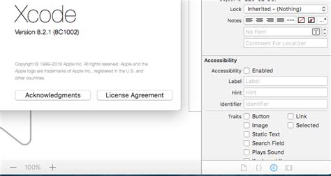 enable layout xcode xcode8 where are the constraints in xcode 8 2 1 stack