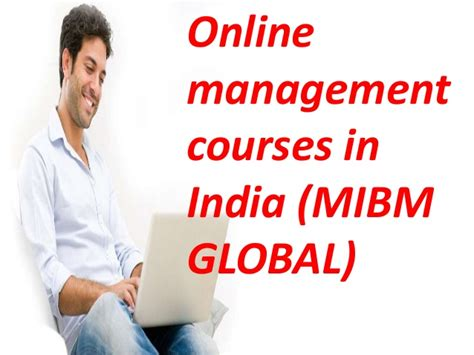 One Year Mba Programme In by Mibm Global One Year Mba Programs In India