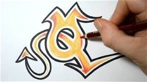 draw graffiti letter  graffiti belettering