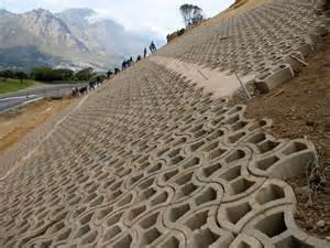 terrafix slope rehabilitation erosion control terraforce