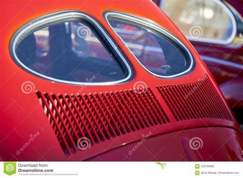 red volkswagen beetle editorial image cartoondealercom