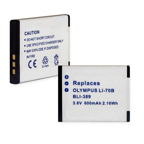 Battery Olympus Li 70b Oem battery for olympus vg 160