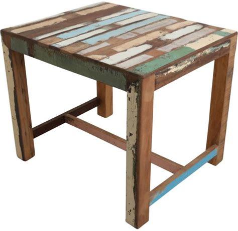 tafel gerecycled hout gerecycled hout tafel mdf lakken hoogglans