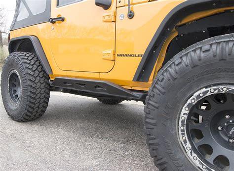 Jeep Wrangler Rock Sliders Jcr Offroad Jksl M 2d Mauler Weld On Rock Sliders For 07