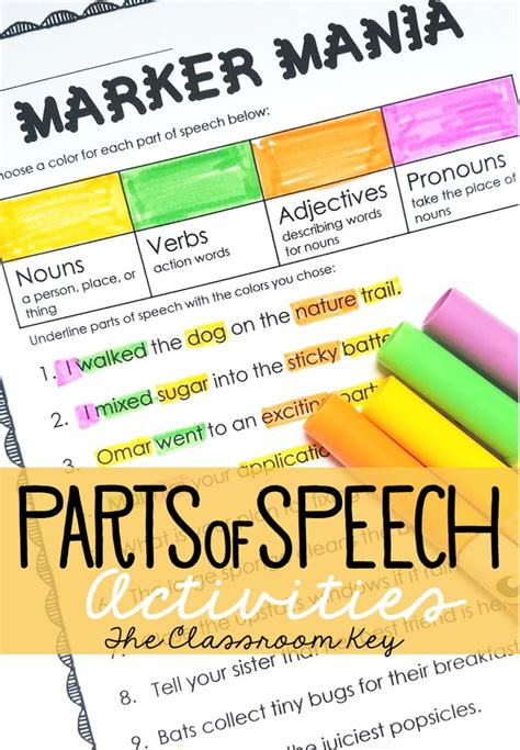 coloring page parts of speech beginner 74 coloring page parts of speech beginner get free