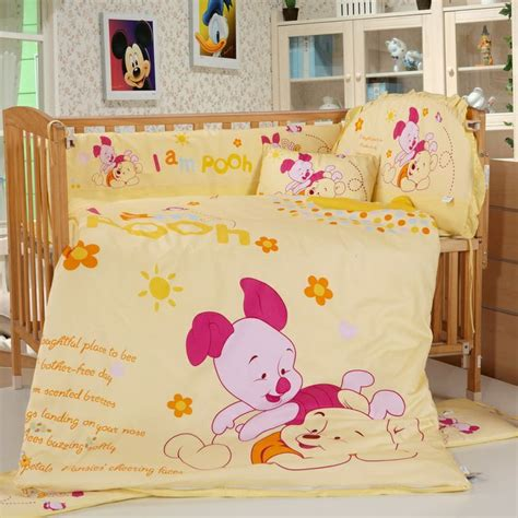 Baby Winnie The Pooh Crib Bedding 17 Best Images About Disney Crib Bedding Sets On Pinterest Disney Disney Baby Bedding And