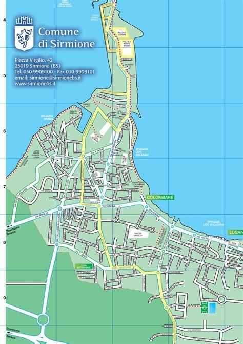 ufficio turistico sirmione garmin trio mappa circolazione sirmione