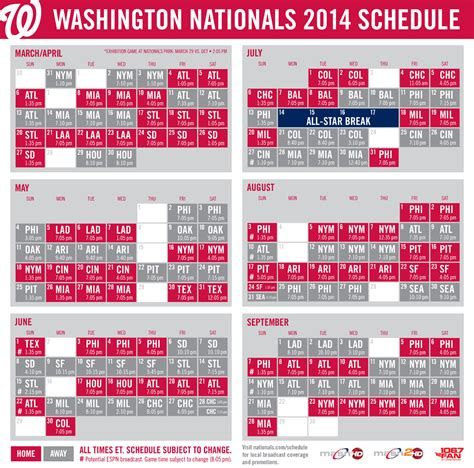 printable schedule washington nationals dc thrifty mom offers nationals ticket discount for the