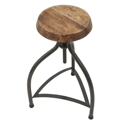 34 Inch Wooden Bar Stools by Cooper Vintage Solid Wood Metal Adjustable Bar Stool