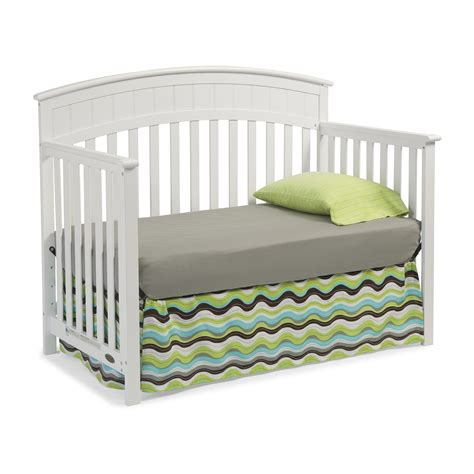 Graco Charleston 4 In 1 Convertible Crib Reviews Wayfair Graco Crib Convertible