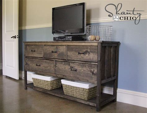 diy dresser ideas pottery barn inspired diy dresser shanty 2 chic
