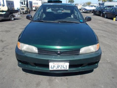 buy mitsubishi mirage buy used 1999 mitsubishi mirage no reserve in